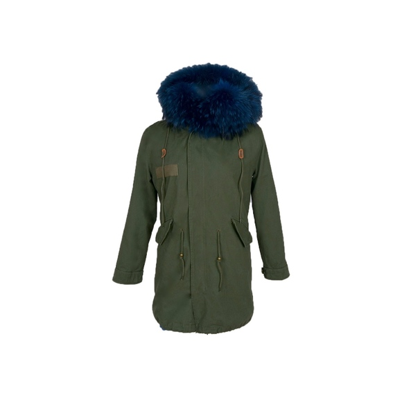 Green Parka Fur Lined